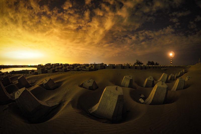 頂頭額沙洲|七股小沙漠
