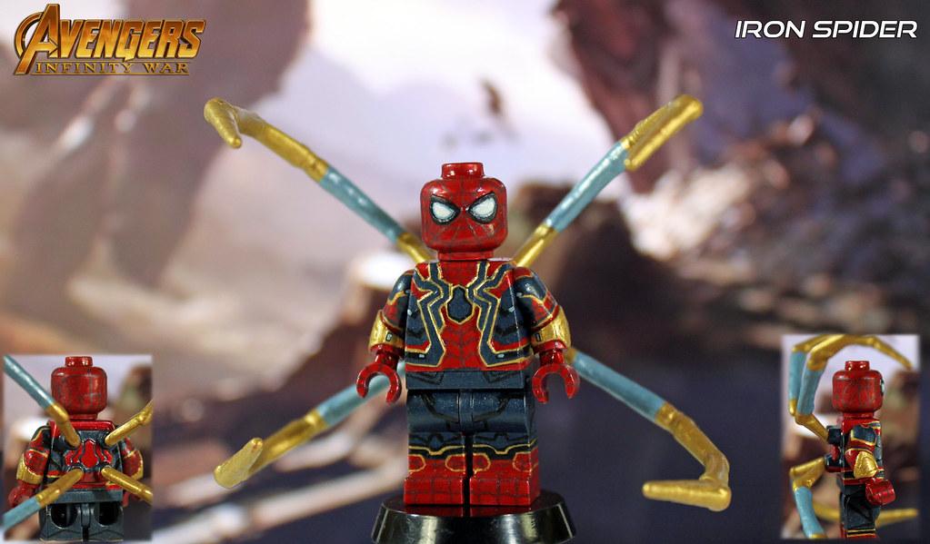 "Custom LEGO Avengers: Infinity War | Iron Spider | ""You ..."