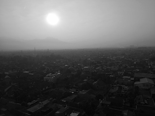 people bandung indonesia morning