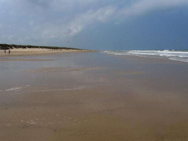 The beach near Horsey Gap, Norfolk
