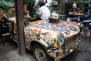 Szimpla Kert Ruin Bar Trabant | by nan palmero