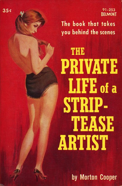 Belmont Books 91-253 - Morton Cooper - The Private Life of a Strip-Tease Artist