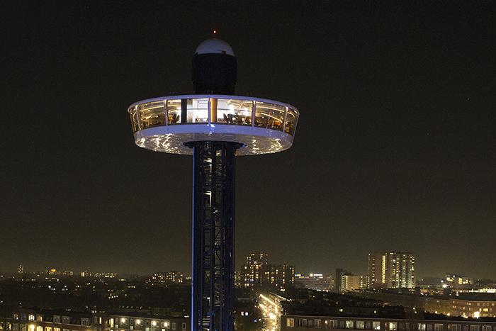 Rotterdam UFO Restaurant