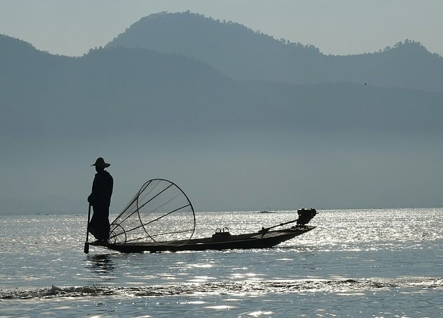 Fisher - Inle Lake - Myanmar (Birma)