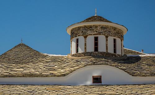 Roof Tiles - Local Church - Skopelos Town (Olympus OM-D EM1-Mk2 & M.Zuiko 12-100mm F4 Travel-Zoom) (1 of 1)
