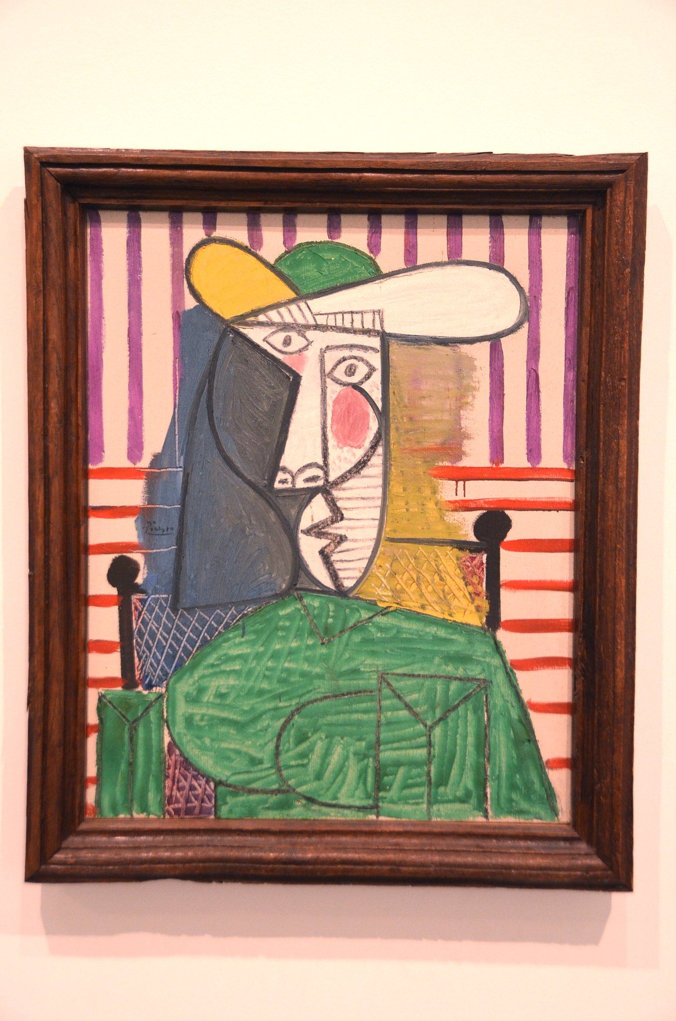 Picasso's Bust of a Woman