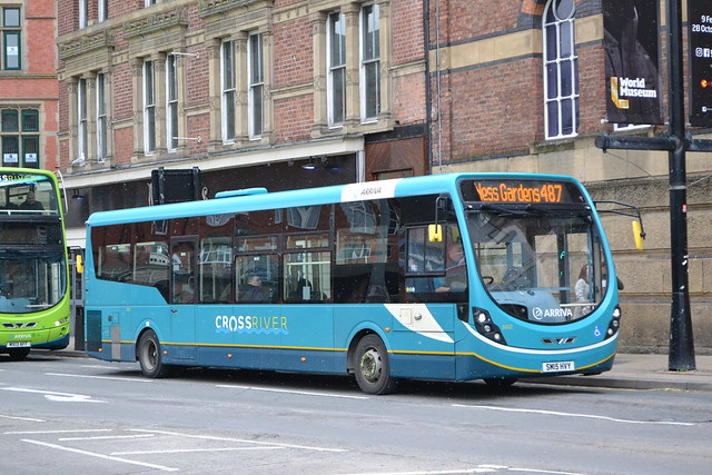 Arriva North West 6002 SM15HMY