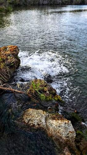 miniwateerfall deleonspringsflorida water springs waterfall rocks boulders scenic landscape