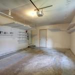 Garage space has more storage.