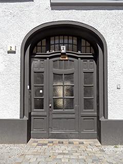 Oberlandstraße 2 - Eingang