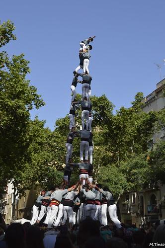 2018 Diada d'Estiu dels Castellers de Sants | by Cargolins