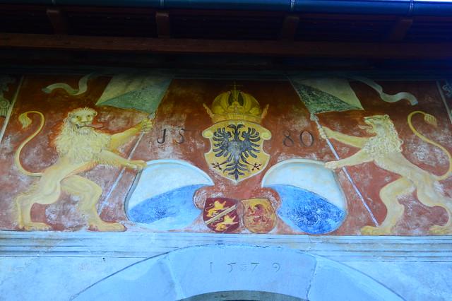 Burgmauer von Kyburg