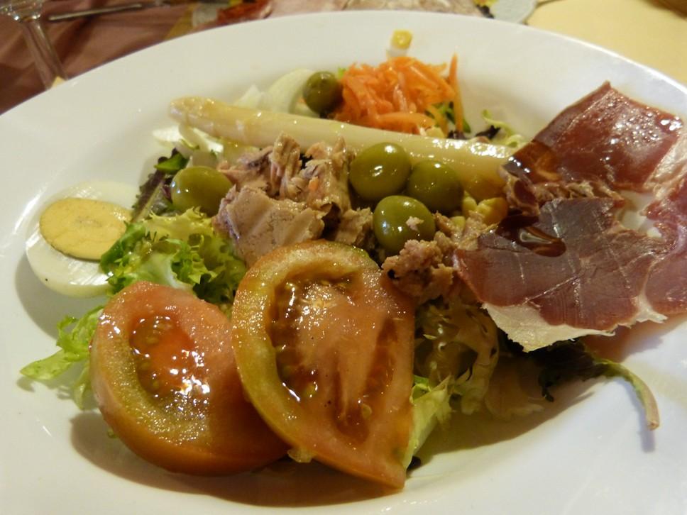 receta de la ensalada variada receta fácil