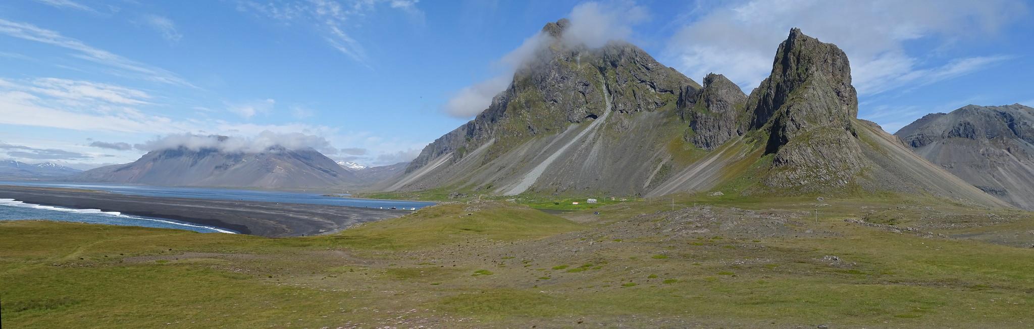 Eystrahom montaña Islandia