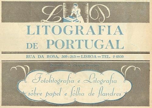 Publicidade antiga | old advertising | anos 40 | Portugal 1940s