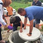 Ogled malih komunalnih čistilnih naprav v Ihanu.