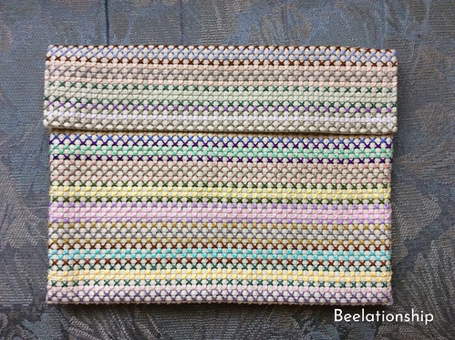 Pastel Color Bag in Bag | by Beelationship Embroidery Studio