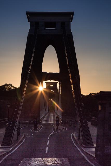 A bridge at dawn (Explored)