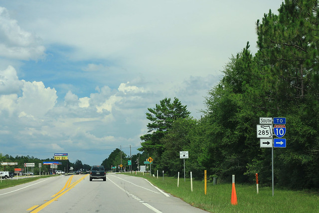 US90 East - FL285 South To I-10 Signs