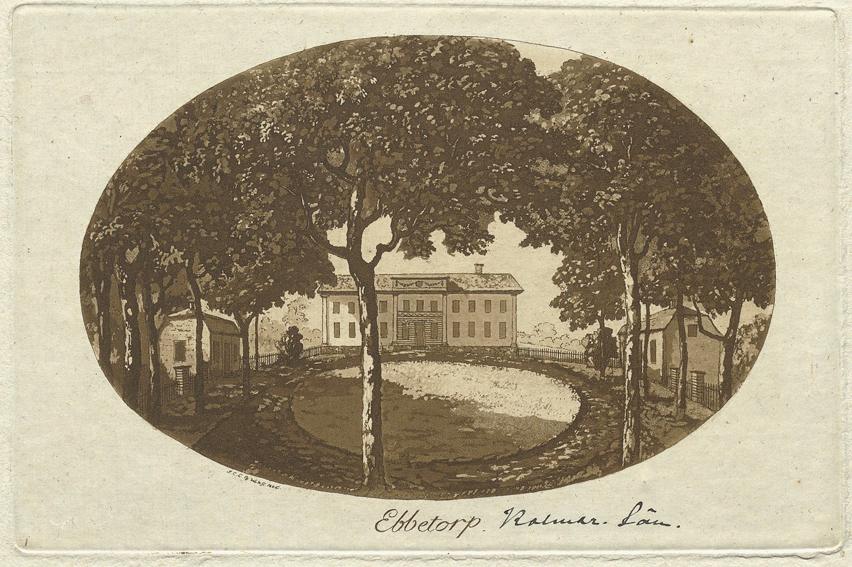 Ebbetorp Mansion, Dörby, Småland, Sweden