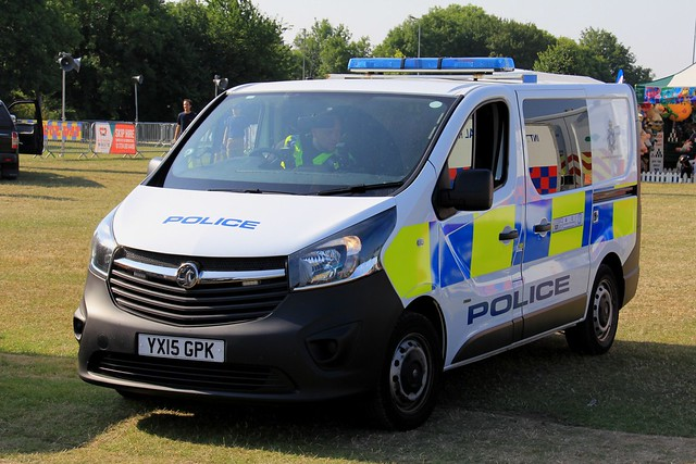 Humberside Police Vauxhall Vivaro Cell Van