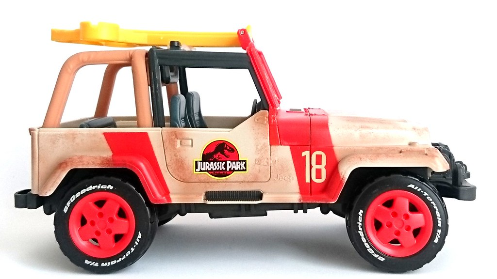 Jurassic World Jeep Wrangler Rescue Net Vehicle Fallen Kingdom