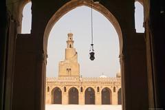 Mezquita de Ibn tulun. El Cairo, Egipto.