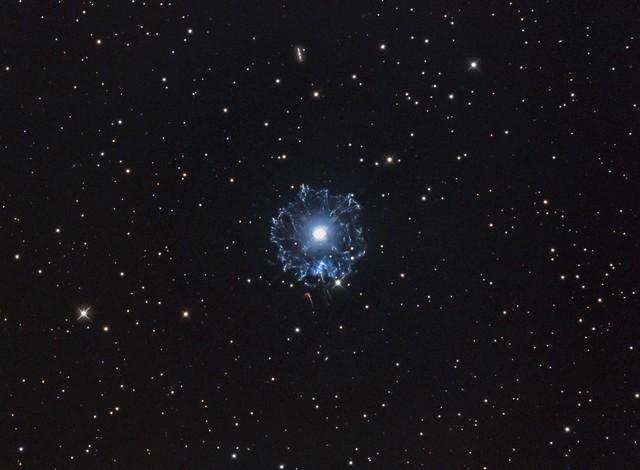 Cat's Eye Nebula (NGC6543) in Hα/OIII-RGB