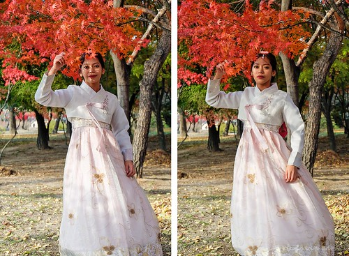 autumn_seoul_hanbok_korea | by Sammdaysoon