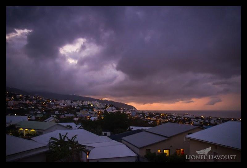 Sunset over Saint-Denis