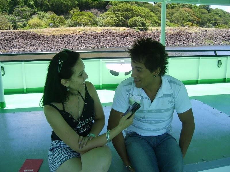 Dani Pessôa _ Show&Art entrevista cantor Tiago em gravação ao sbt central Pgm Amigos da Viola