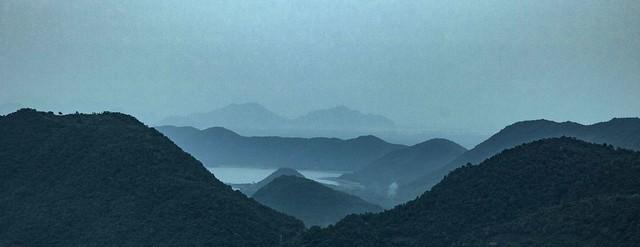 Stack of mountains, Araku Valley, India
