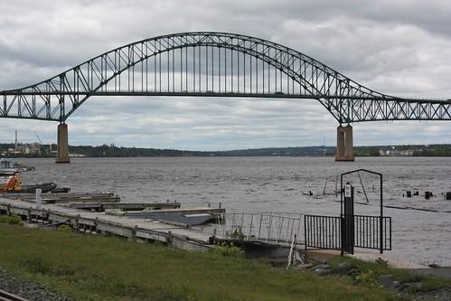 miramichi newbrunswick canada bridge river water miramichiriver