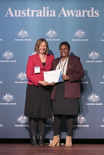 Australia Awards scholars