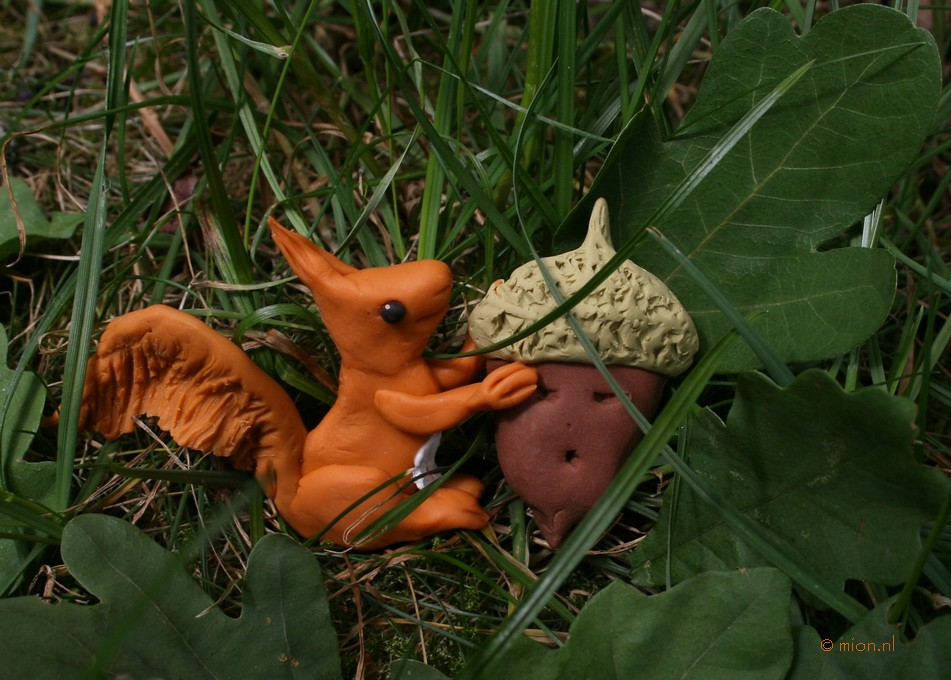 Squirrel - for Illustration Friday