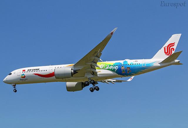 F-WZNU Airbus A350 Air China