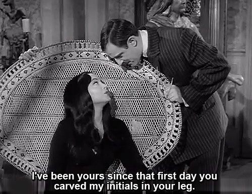 And gomez quotes morticia love The Addams