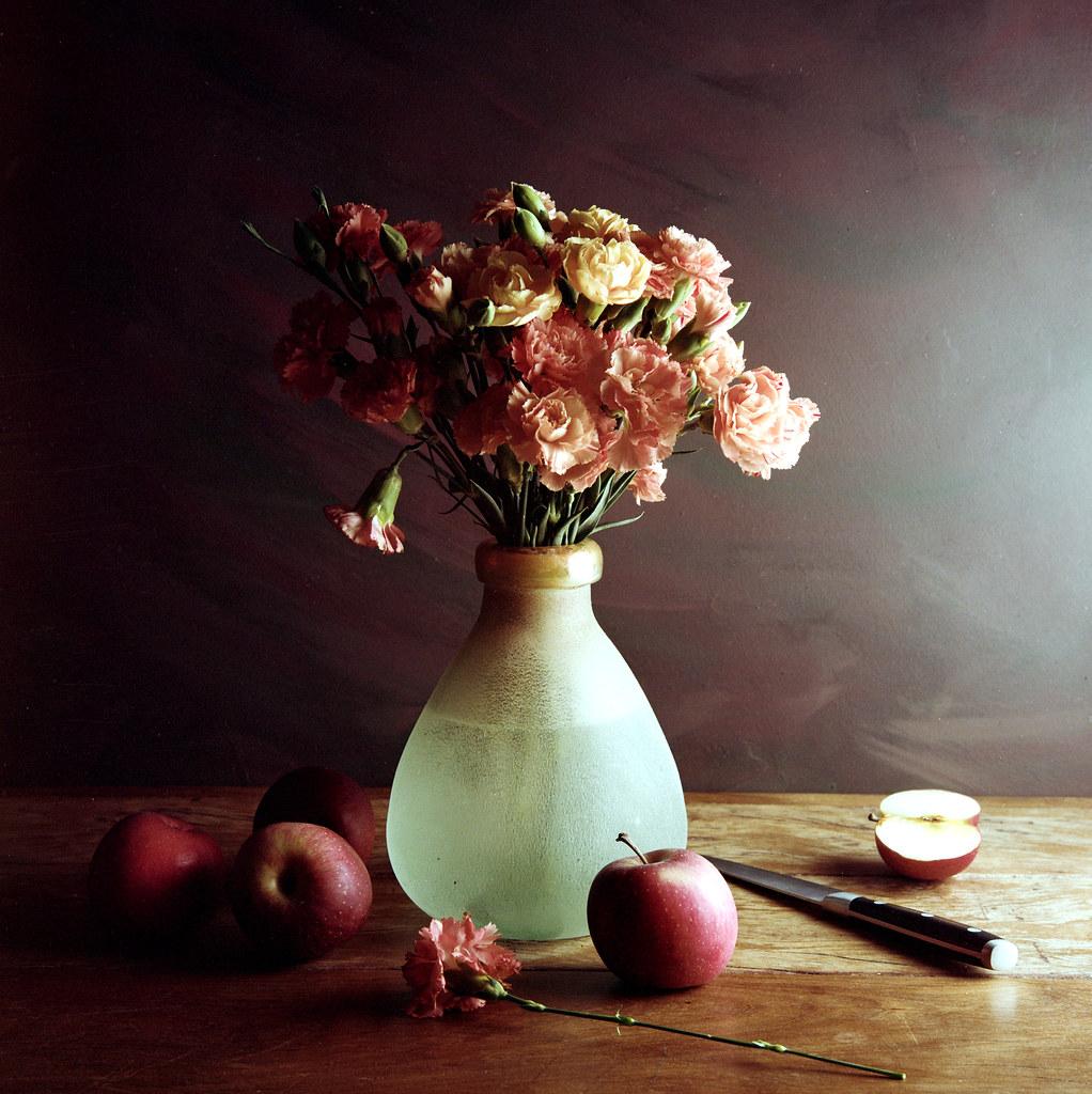 Still Life with apples - Kodak Portra 160