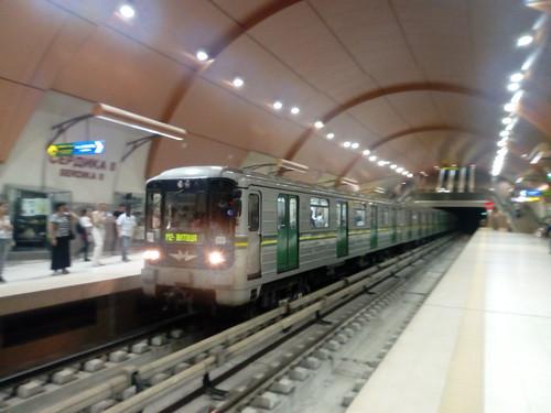 Sofia metro train   by TheBulgarianRail