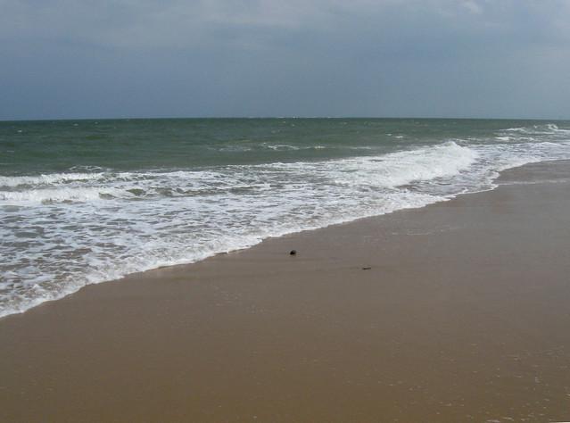 The beach north of Winterton-on-Sea Norfolk