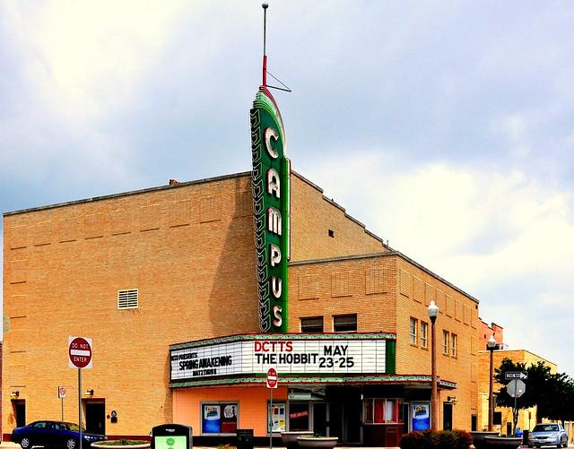 Campus Theater - Denton,Texas