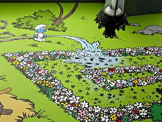 The Flower Carpet And Manneken Smurf Brussels Europakruisp Flickr