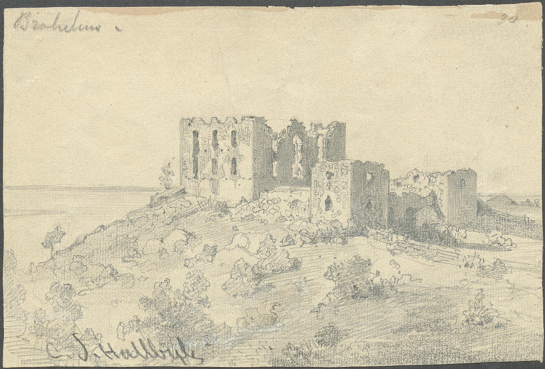 Brahehus Castle Ruin, Gränna, Småland, Sweden