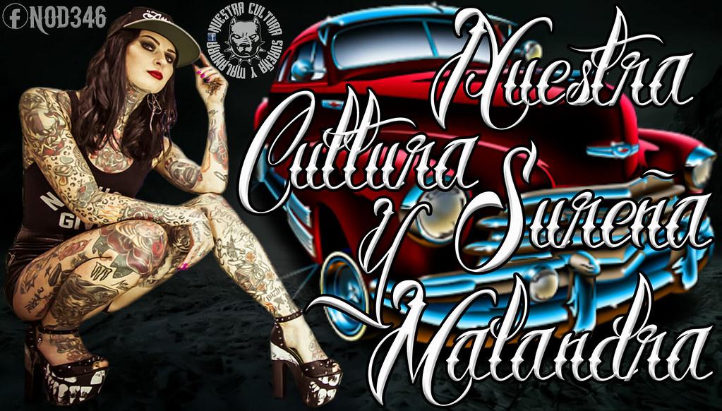 e6022d7673a13 ... Chola Tattoo Graffiti Art Gangster Girl Azteca LowRider   by nod346