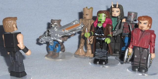 MiniMates - Thor Meets the Guardians