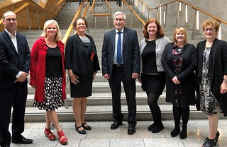 Meeting representatives of Adoption UK   by Iain Gray MSP