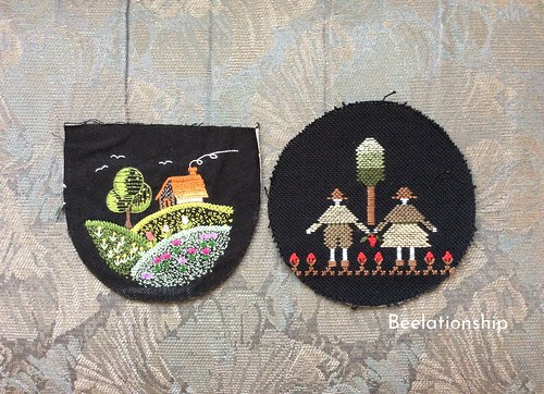 A House on the Hill and Childhood Friends Hoop Art | by Beelationship Embroidery Studio