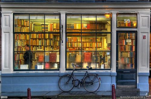 llibreria - bookstore - Amsterdam - HDR by MorBCN