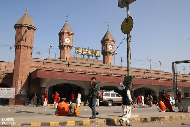 Lahore, Pakistan: Railway Station | The Lahore Railway Stati
