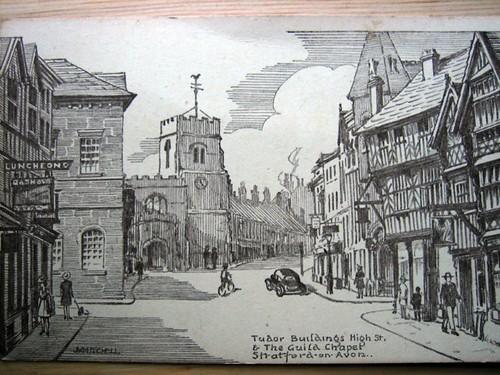 Postcards - Stratford